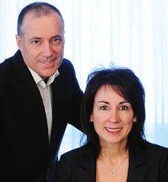 Denis Allain et Isabelle Thibodault